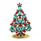 Xmas Tree Standing Decoration 2020 #19 ~ Emerald Red