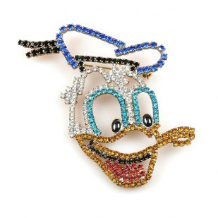 Donald Duck Brooch
