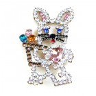 Easter Bunny Pin ~ #1 ~ Medium