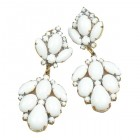 Sweetness Earrings Pierced ~ Snowy White