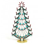 Xmas Tree Standing Tall Decoration 20cm ~ Emerald