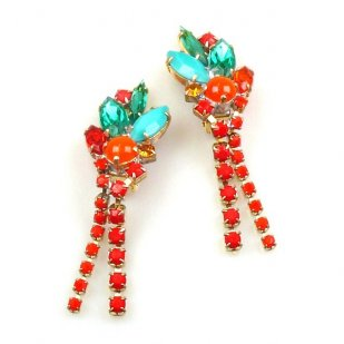 Empress Dangling Earrings Clips ~ Classic