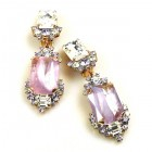 Pearlesque Earrings Clips ~ Lilac Spirit