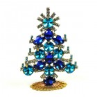 Xmas Tree Standing Decoration 2020 #20 ~ Aqua Rivoli Blue