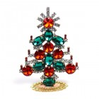 Xmas Tree Standing Decoration 2019 #20 ~ Red Rivoli Emerald
