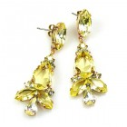 Sophia Earrings Pierced ~ Yellow