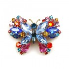 Butterfly Multicolor Pin ~ #3