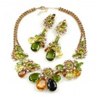Parisienne Bloom Necklace Set ~ Autumn