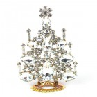 Xmas Tree Standing Decoration 2020 #21 ~ Clear Crystal