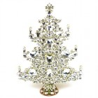 13 Inches Giant Xmas Tree with Octagons ~ Clear Crystal