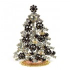 Xmas Tree Standing Decoration 2020 #08 Clear Purple