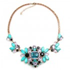 Florence Necklace ~ Turquoise Multicolor