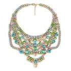 Crazy Meadow Necklace ~ Pastel Tones