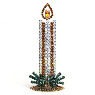Christmas Candle Stand-up Decoration #1