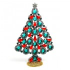2019 Xmas Tree Pears Rhinestones Decoration ~ Multicolor
