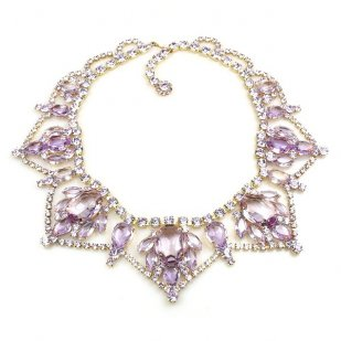Roxanne Necklace ~ Violet