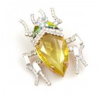 Creepy-Crawly Pin ~ Yellow