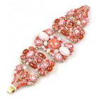One More Time Bracelet ~ Old Rose