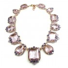 Candy Puffs Necklace ~ Violet
