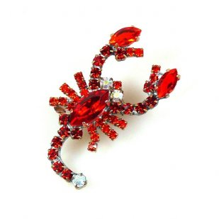 Scorpion Small ~ Red