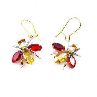 Flies Earrings #14