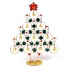 Decoration Xmas Tree with Dangling Rondelles #1 Multicolor