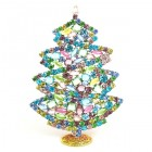 2018 Xmas Tree Stand-up Decoration 17cm with Crystals ~ #3