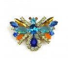 Colorful Butterfly Brooch ~ #2