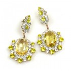 Infinite Dream Earrings Pierced ~ Yellow