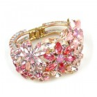 True Love ~ Clamper Bracelet ~ Pink