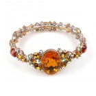 Fondness Bangle Bracelet ~ Topaz