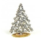 Navette Xmas Tree Stand-up ~ Clear Crystal