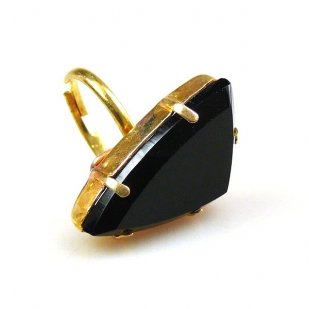 Delta Triangular Ring ~ Black