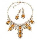 Laura Necklace Set ~ Topaz