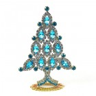 Xmas Tree Standing Decoration 2020 #10 Aqua Clear