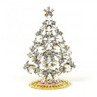 Xmas Tree Standing Decoration 2019 #19 ~ Clear Crystal