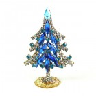 Xmas Tree Standing Decoration 2020 #07 ~ Blue Clear
