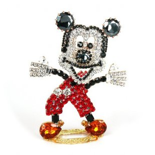 Mickey ~ Extra Decoration and Brooch