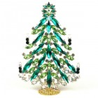 2020 Xmas Tree Decoration 18cm Navettes ~ Green