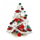 Xmas Tree Brooch #11 ~ #01