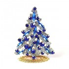 Navette Xmas Tree Stand-up ~ Blue Clear