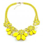 Parisienne Bloom Necklace ~ Sunshine