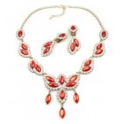 Princess Necklace Set ~ Red