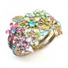 True Love ~ Clamper Bracelet ~ Pastel Colors