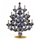 Xmas Tree Standing Decoration 2018 #06 ~ Purple Violet