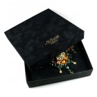 Luxury Gift Box for Set, 23cm x 23cm ~ Black Velvet