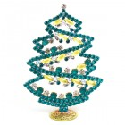 2018 Xmas Tree Stand-up Decoration 17cm with Cabochons ~ #2