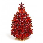 3 Dimensional Large Xmas Tree Decoration ~ Red Hyacinth