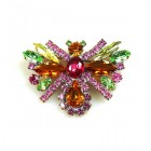 Colorful Butterfly Brooch ~ #1
