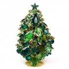 3 Dimensional Large Xmas Tree Decoration ~ Green Tones
